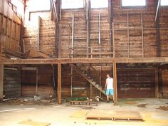 wooden structure Barn!