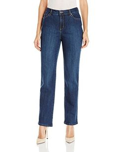 Gloria Vanderbilt Womens AmandaClassic Straight Leg Jean Scottsdale Wash 18 -- You can get more details by clicking on the image.(This is an Amazon affiliate link and I receive a commission for the sales)