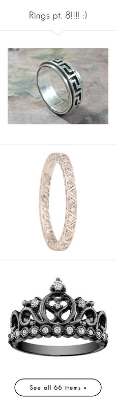 """""""Rings pt. 8!!!! :)"""" by nerdbucket ❤ liked on Polyvore featuring men's fashion, men's accessories, men's key rings, vintage mens accessories, men's jewelry, men's rings, jewelry, rings, mens white gold diamond ring and mens diamond rings"""