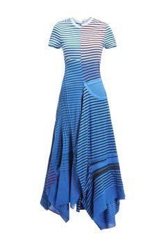 Asymmetric t-shirt dress in tie and dye stripe cotton Elegant Dresses, Pretty Dresses, Casual Dresses, Short Dresses, Summer Dresses, Kpop Clothes, Unisex Clothes, Clothes For Women, Long Shirt Dress