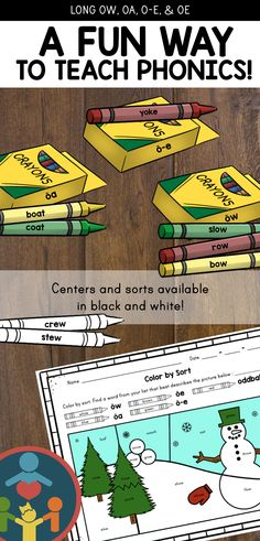 This packet comes with fun center activities and homophone flash cards. Great way to engage students in words study. Perfect for second grade, third grade, or high-level first grade students. Phonics Rules, Teaching Phonics, Primary Teaching, Teaching Resources, Jolly Phonics, Elementary Teaching, Writing Resources, Writing Ideas, Teaching Reading