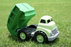 Green Toys Inc - Recycling Truck  One of Jackson's many toys from this awesome company. ❤️ Made from recycled milk jugs!