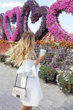 Organic Gardening At Home Refferal: 8014596550 Dubai Vacation, Dubai Travel, Dubai Trip, Ohh Couture, Dubai Garden, Miracle Garden, Leonie Hanne, Beach Please, Pergola