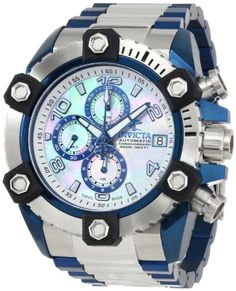 Invicta Men's 13764 Arsenal Analog Display Swiss Automatic Two Tone Watch Invicta http://www.amazon.com/dp/B00FO7QCS8/ref=cm_sw_r_pi_dp_8bbVtb13RBTX7QT2