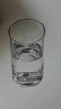 Les 2. Dit is mijn glas en ik moet nu beginnen aan mijn achtergrond.