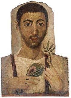 Another Fayum mummy portrait