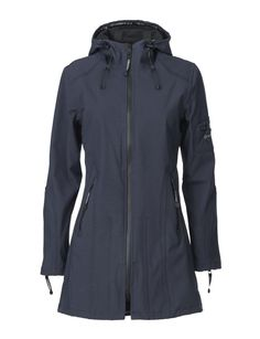 Ilse Jacobsen Raincoat RAIN07P in Indigo - A great range of Ilse Jacobsen Raincoat Rain07P In Indigo from Blue Saffron Walden , independent fashion boutique and home of elegant ladies wear.
