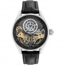 Rougois Skeleton Automatic Watch #skeletonwatchshop #skeletonwatches #rougoiswatches #menswatches