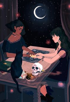 Power & Magic Press Presents Another Fine Anthology: Immor… Back At It Again! Power & Magic Press Presents Another Fine Anthology: Immortal Souls Witch Aesthetic, Aesthetic Art, Art Sketches, Art Drawings, Character Art, Character Design, Witch Drawing, Illustration Art, Illustrations