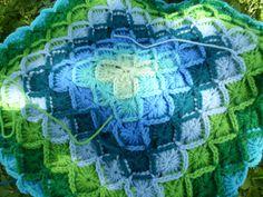 What a lovely weekend. Beginner Crochet Tutorial, Crochet For Beginners, Crochet Blanket Patterns, Crochet Afghans, Crochet Blankets, Bavarian Crochet, Thread Art, Knit Crochet, Pattern Ideas
