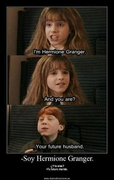 Hermione granger :: funny pictures :: harry potter :: husband / funny pictures & best jokes: comics, images, video, humor, gif animation - i lol'd Harry Potter World, Humour Harry Potter, Mundo Harry Potter, Harry Potter Pictures, Harry Potter Fandom, Funny Harry Potter Pics, Harry Potter Ron And Hermione, Harry Harry, Harry Potter Films
