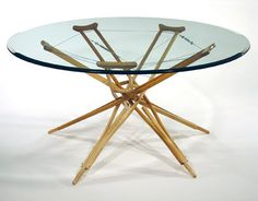 New Dining Room Table? Crutch PFcrutchTable2MAIN 10 Ideas to upcycle old crutches in diy  with Upcycled Recycled Ideas Crutches
