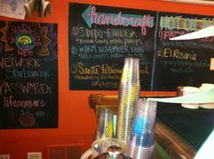 Star Lounge Coffee Bar Ukranian Village Chicago. Serve Dark Matter coffee.