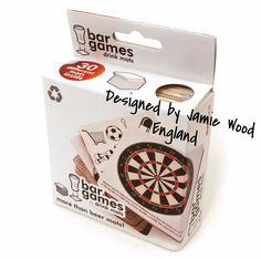 CVIN034 - Portavasos & Juegos Bar (30 uds.) (Bar Games - Drink Mats) - Producto de Diseñador