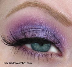Everyone lady should have a purple smokey eye up her sleeve!