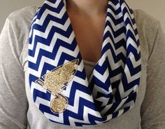 St. Louis Blues infinity scarf.