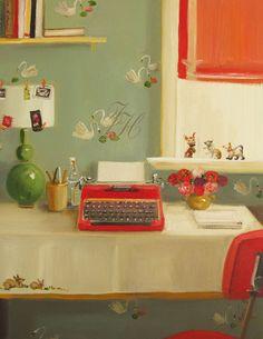 Print by artist Janet Hill, Janet Hill Studio www.etsy.com/shop/janethillstudio?ref=seller_info