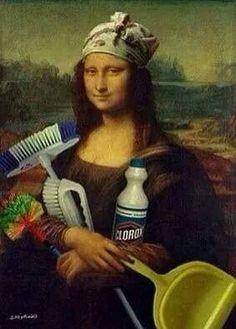 The real Mona Lisa Mona Lisa Parody, Mona Lisa Smile, Tachisme, Foto Art, Art Memes, Italian Artist, Funny Art, Oeuvre D'art, Caricature