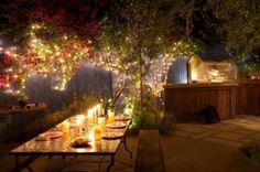 Outdoor kitchen by ontwerper Laura Morton