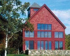 Davis Frame Company: Classic Barn 1A – Timber Frame House Plans - Timber Home Living