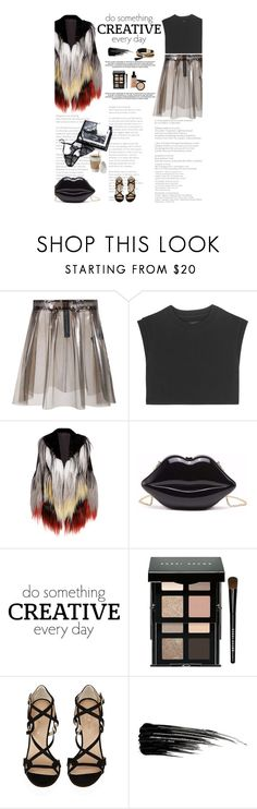 """""""Untitled #2609"""" by amimcqueen ❤ liked on Polyvore featuring American Retro, adidas Originals, Rodarte, WALL, Bobbi Brown Cosmetics, Kurt Geiger, Urban Decay and Simons"""