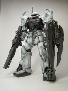 MG 1/100 Gouf Custom Federal Troops Version - Custom Build - Gundam Kits Collection News and Reviews