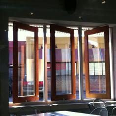 Good sunroom window idea. Chipotle, OKC.
