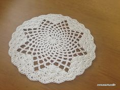 Ravelry: Star Coaster or doily  pattern by Asami Togashi
