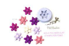 Stampi in silicone-Stampi per il fimo-Stampo Fiore-Stampo Fimo-Stampo Gioielli-Stampi Silicone-Stampini in Silicone-Stampi Fimo-Fimo ST435