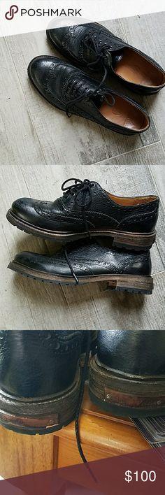Atelier Voisin leather oxfords Atelier Voisin women's oxfords.  Euro 38, US 7. Like new. atelier Voisin Shoes Flats & Loafers