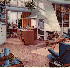 open concept circa 1954