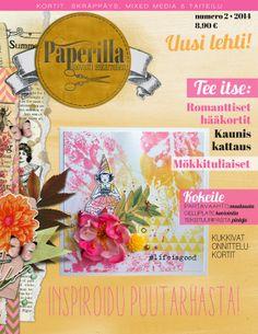 Paperilla -lehti - Askartelua paperista: Uusi Paperilla -lehti on ilmestynyt!