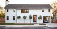 Clifford Residence - farmhouse - Exterior - Austin - Texas Construction Company