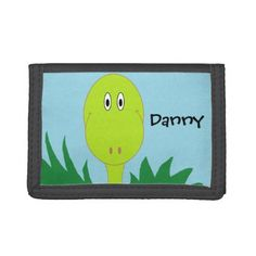 Personalized Dinosaur Wallet - boy gifts gift ideas diy unique