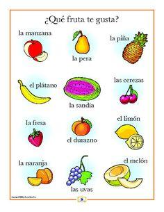 Spanish Set of 21 Mini Posters