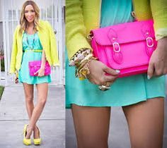 mi preferida  neon estilo verano