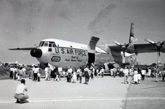 April 23, 1956: First flight of the Douglas C-133 Cargomaster.