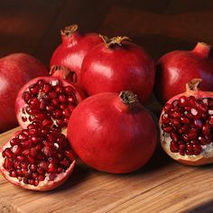 I am thankful for pomegranates.  Those delicious fruits that I can only find a few weeks of the year.