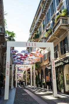 Milan's Brera District During Fashion Week 2017