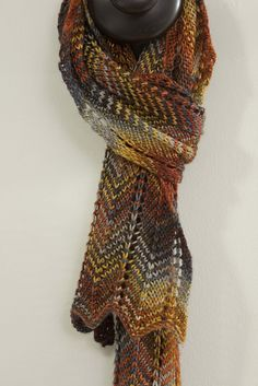 Handmaiden Fine Yarn; Casbah Sock; in color Red Fox. This color comes in many yarn bases, not just the Casbah.