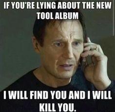 Liam Neeson #Tool band