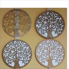 Lebensbaum Baum des Lebens aus Holz Korkdesign Graviert mit/ohne Hintergrund  Laser Cut  Wanddeko Holzdekor  Wandbild Dekoration Deko