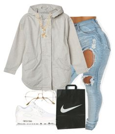 """""""Untitled #643"""" by zayani ❤ liked on Polyvore featuring Monki, NIKE, Juicy Couture, women's clothing, women's fashion, women, female, woman, misses and juniors"""