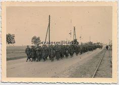 Orig. Foto Kolonne polnische Gefangene in Polen 1939   eBay