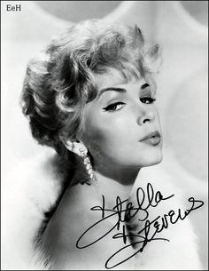 Autographed photo of Stella Stevens