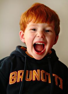 Freckles with an attitude Red Hair Freckles, Redheads Freckles, Beautiful Red Hair, Gorgeous Redhead, Cute Kids, Cute Babies, Ginger Head, Ginger Boy, Ginger Babies