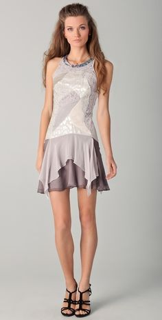 Rebecca Taylor Textured Dress thestylecure.com