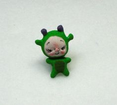 Made to Order Miniature Dragon Soft Sculpture by bebebabiesmexico, $30.00
