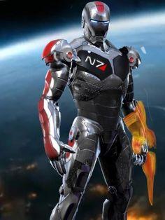 N7 Iron Man, pretty much awesome