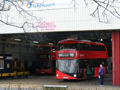 Bus operators pay £1 per New Routemaster bus a year